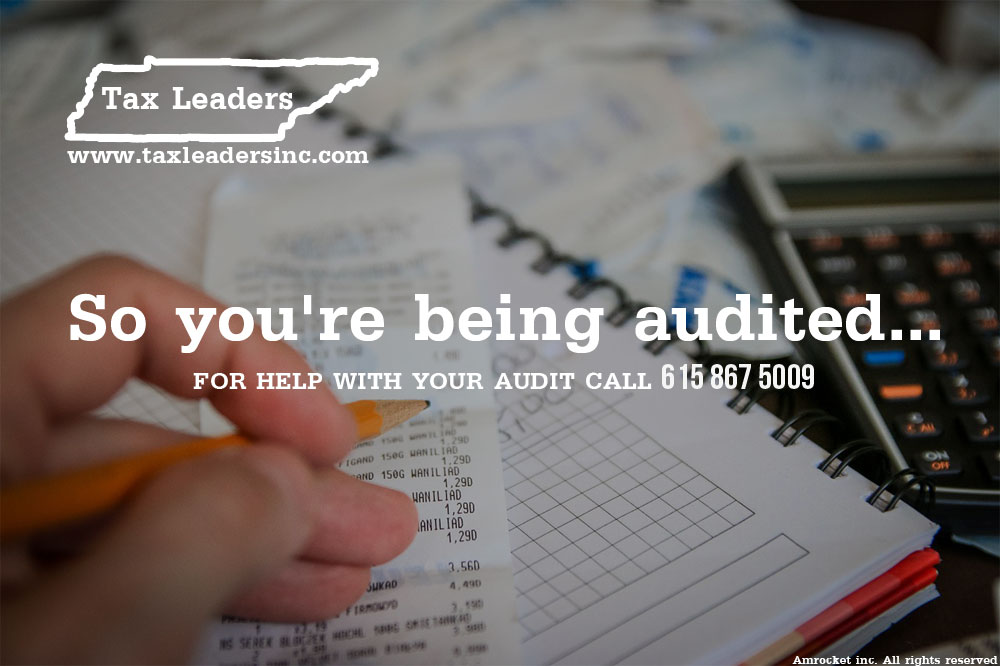 Tax preparation, Immigration services in Middle Tennessee - So you are being audited | Tax Leaders Inc